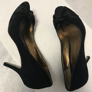 Ann Taylor Loft Black Shoe Sz 6.5M